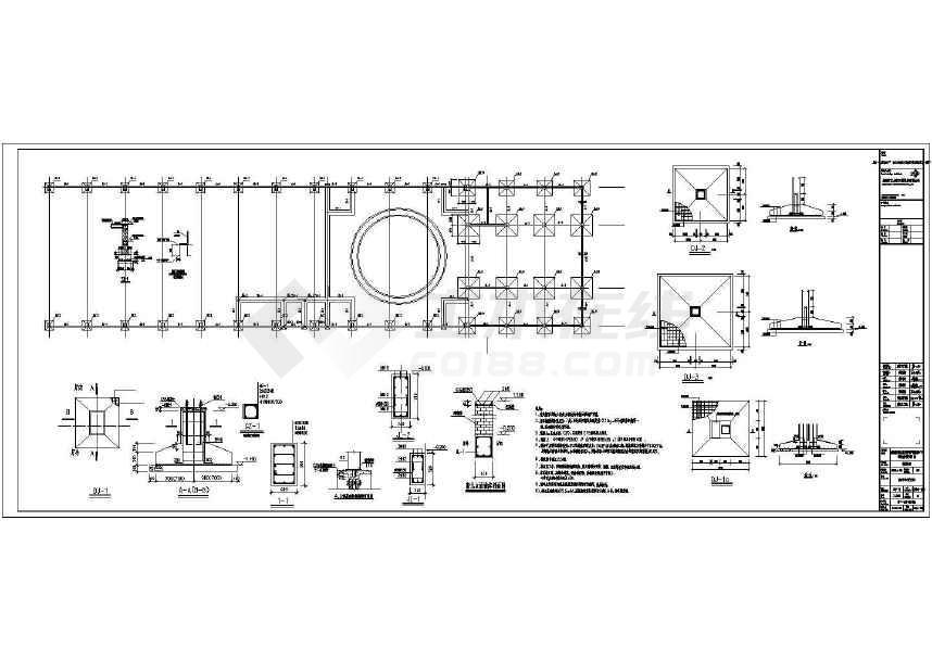 某地单层单跨门钢结构厂房施工图-图2