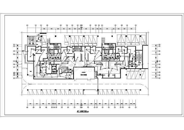 [陕西]高层住宅带人防电气施工图-图2