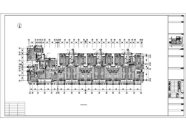 点击查看某六层住宅楼采暖通风图第1张大图