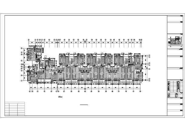点击查看某六层住宅楼采暖通风图第2张大图