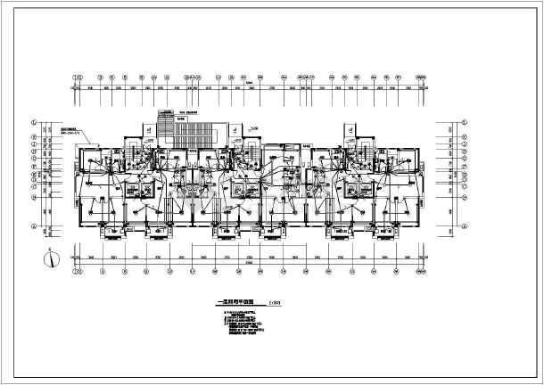 [江苏]16层高档住宅楼电气全套施工图(断路器联动接线详图、楼道灯火灾点燃回路)-图2