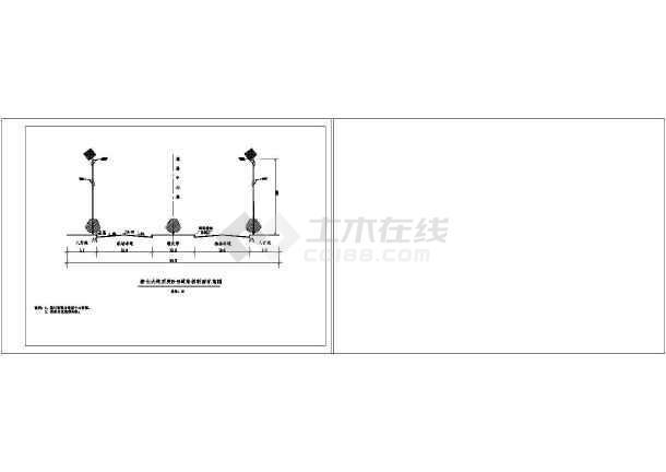 某地比较齐全的太阳能路灯电气CAD图纸-图2