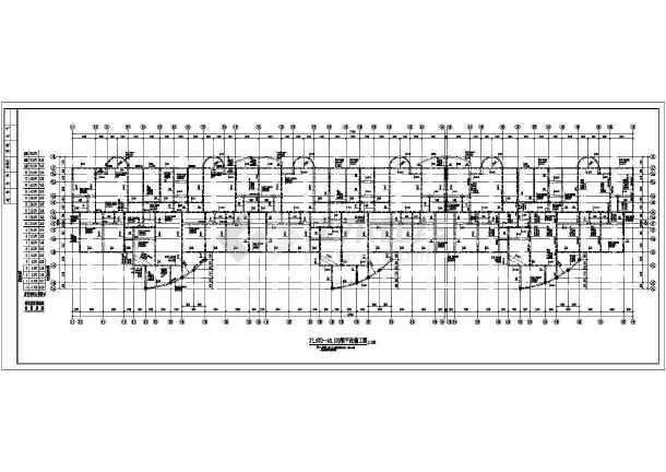 点击查看某地十九层剪力墙住宅楼结构施工图第1张大图