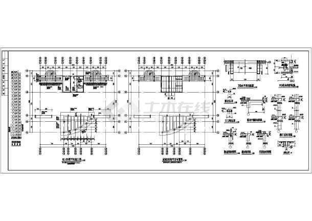点击查看某地十九层剪力墙住宅楼结构施工图第2张大图
