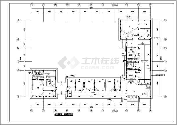 [广东]办公科研楼电气施工图-图一