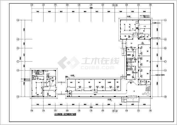 [广东]办公科研楼电气施工图-图1
