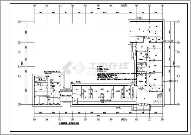 [广东]办公科研楼电气施工图-图2