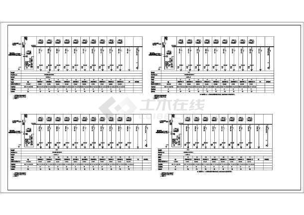 [安徽]82米高层公共建筑强弱电竣工图(加压送风机排污水泵)-图3