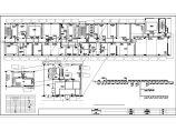 某证券多层办公楼空调通风CAD布置图图片2