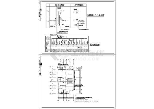 某水景别墅电气图纸全集-图3