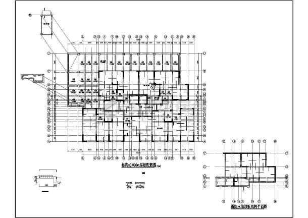 某框剪办公楼结构设计图-图3