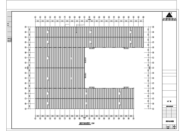 某地建筑钢结构工程CAD图纸图片1