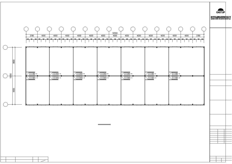 某地建筑钢结构工程CAD图图片3