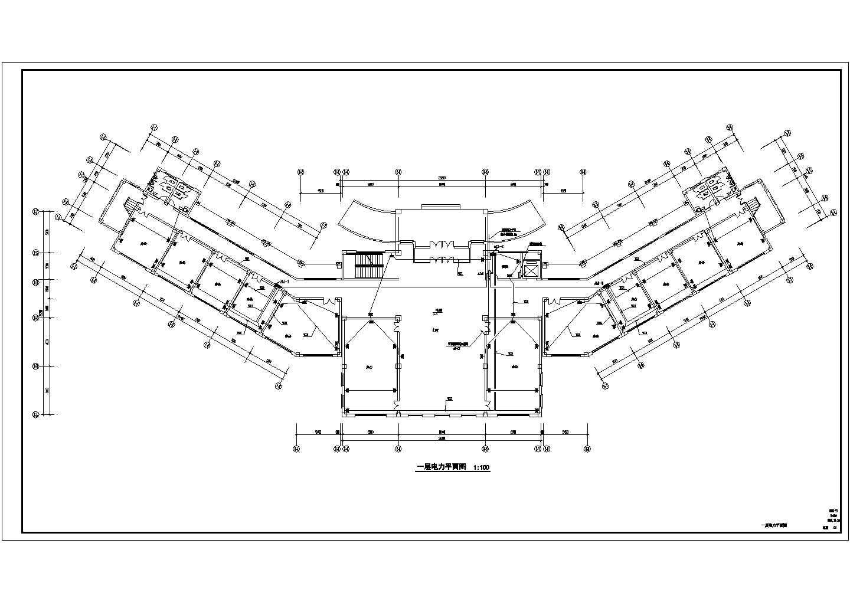 [山东]多层办公楼电气设计施工图图片2