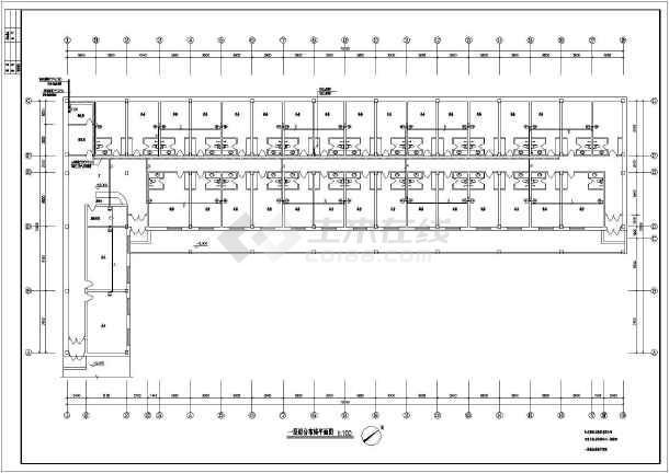 某电力培训中心电气图纸-图1