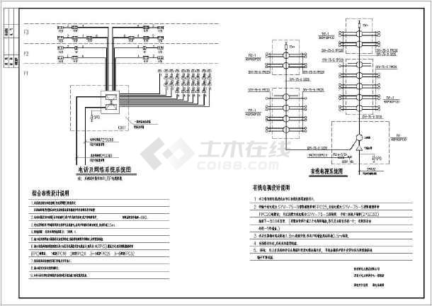 某电力培训中心电气图纸-图3