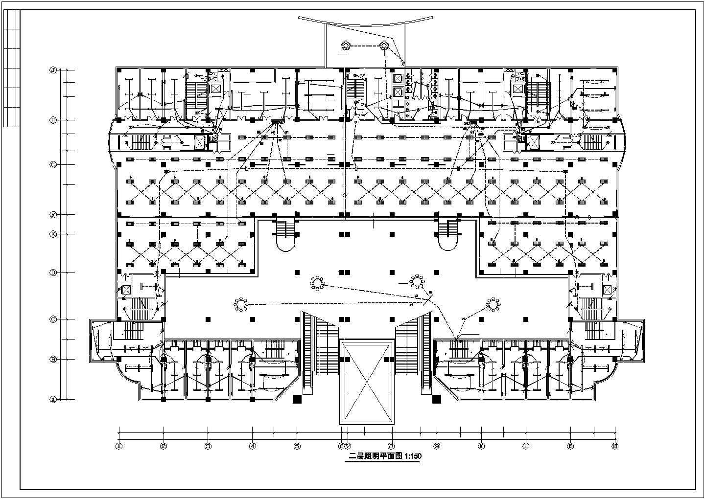 某市五星级酒店电气照明设计施工图纸图片1