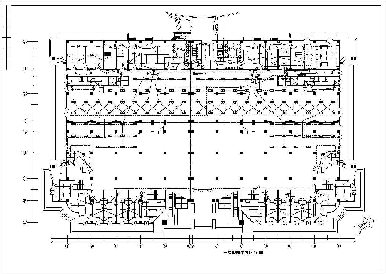 某市五星级酒店电气照明设计施工图纸图片2