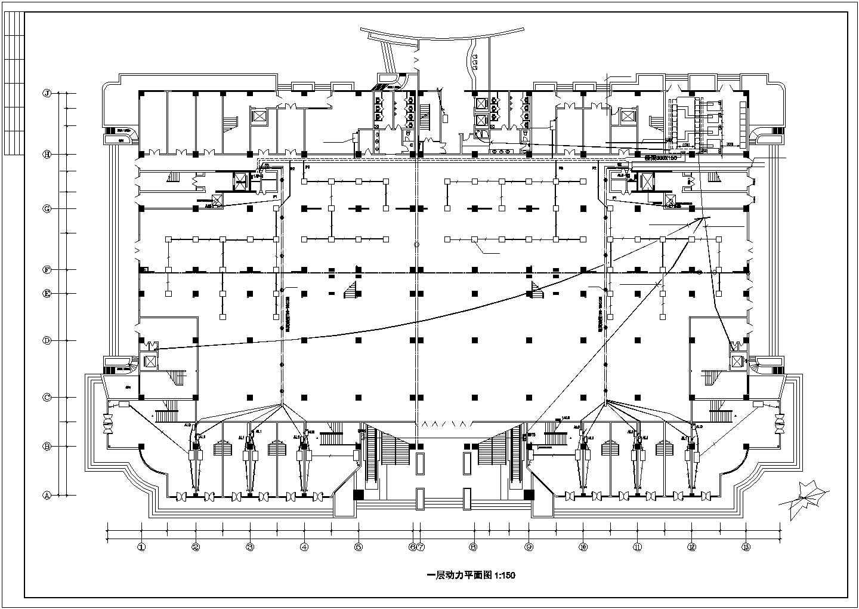 某市五星级酒店电气照明设计施工图纸图片3