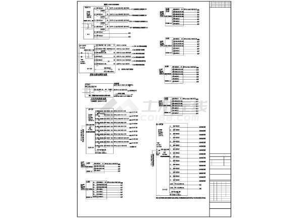 珠海某小区电气照明设计规划图-图2
