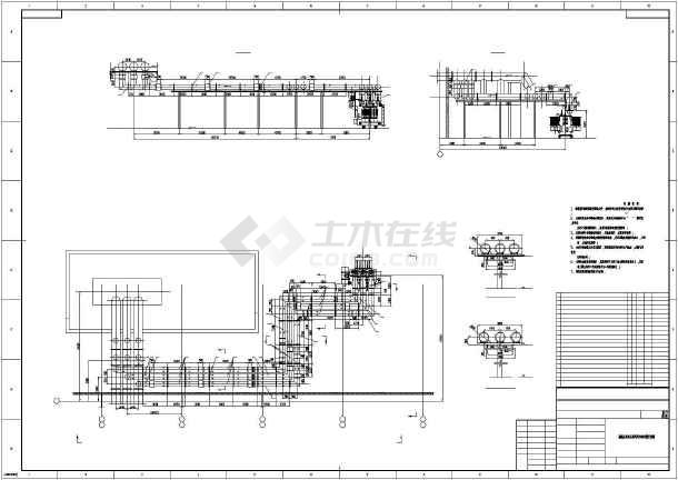 高压变压器电气cad设计方案图-图一