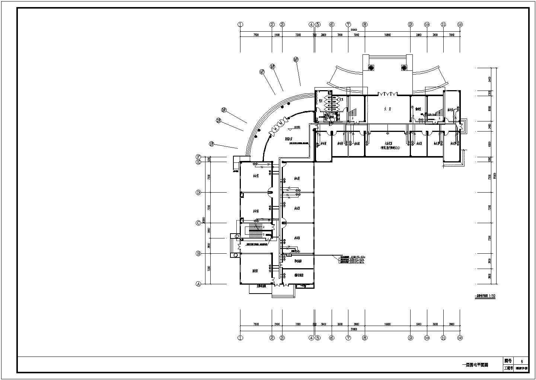 [云南]标准厂房电施图图片3