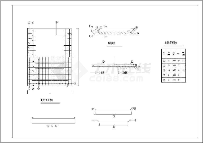 园林设计常用景观桥图纸-图3