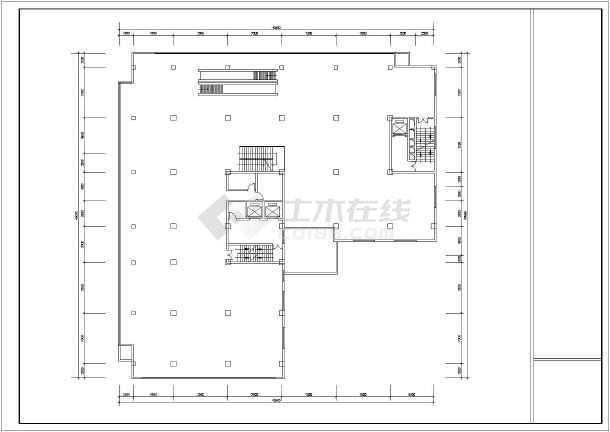 综合楼设计方案总图-图1