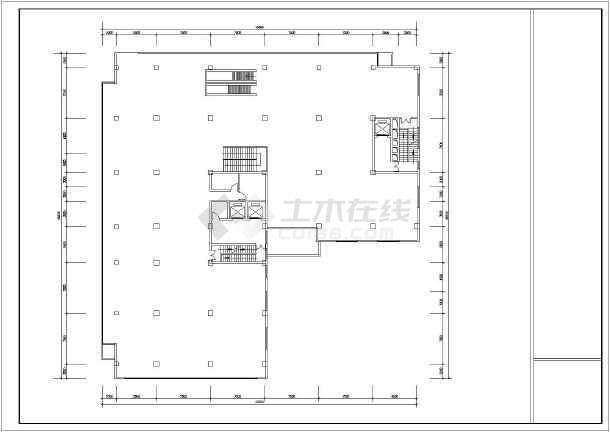 综合楼设计方案总图-图3