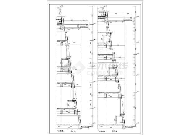 点击查看建筑节点详图及墙身剖面图第1张大图