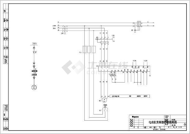 [福建]工业石化项目码头油气回收全套电气施工图-图1