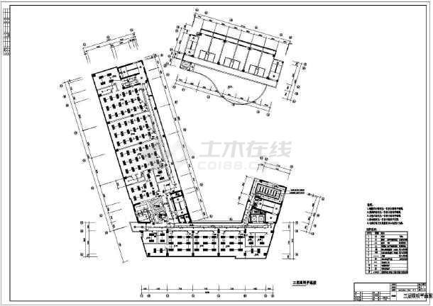 [深圳]二类高层办公照明设计施工图纸-图1