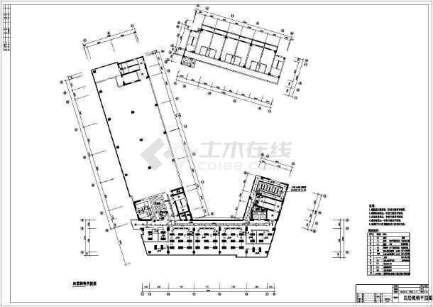[深圳]二类高层办公照明设计施工图纸-图2