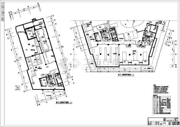 [深圳]二类高层办公照明设计施工图纸-图3
