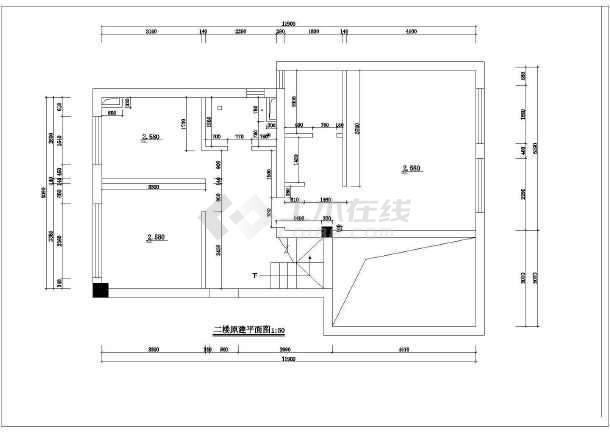 全套别墅装修建筑施工cad图(含设计说明)-图2