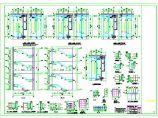 常见钢结构楼梯以及复杂带混凝土柱子楼梯详图图片1