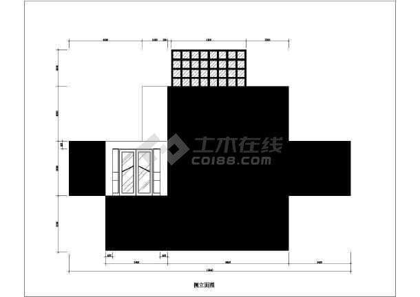 一套简单小型别墅装修方案建筑cad图(含设计说明)-图1