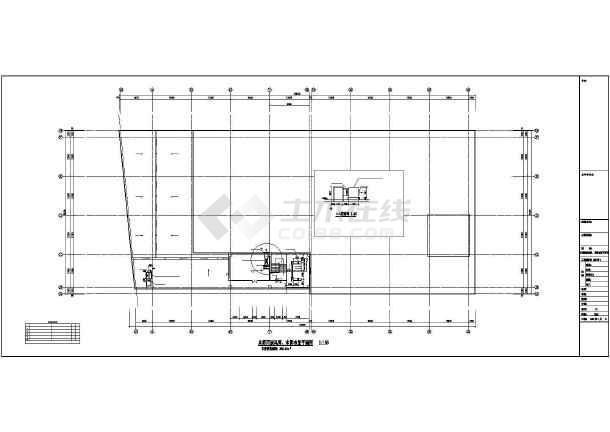 某商业楼暖通空调设计图-图1