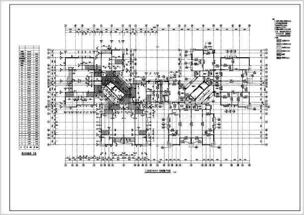 小高层住宅楼结构建筑工程施工图-图1