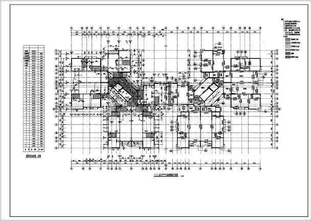 小高层住宅楼结构建筑工程施工图-图2