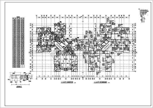 小高层住宅楼结构建筑工程施工图-图3