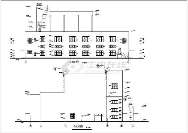 某地集中供热站建筑设计总图(共13张)-图1