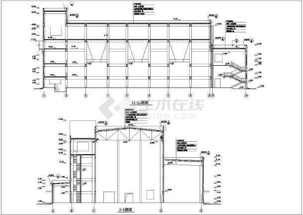 某地集中供热站建筑设计总图(共13张)-图2