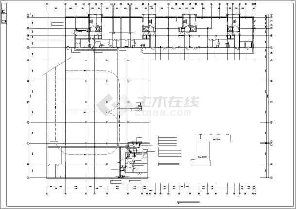 某市综合楼电力电气设计cad施工图-图2