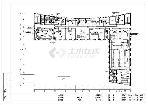 某办公大厦暖通空调施工图-图二