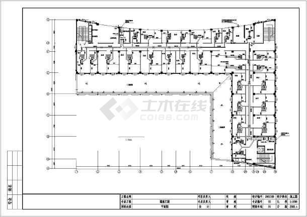 某办公大厦暖通空调施工图-图2