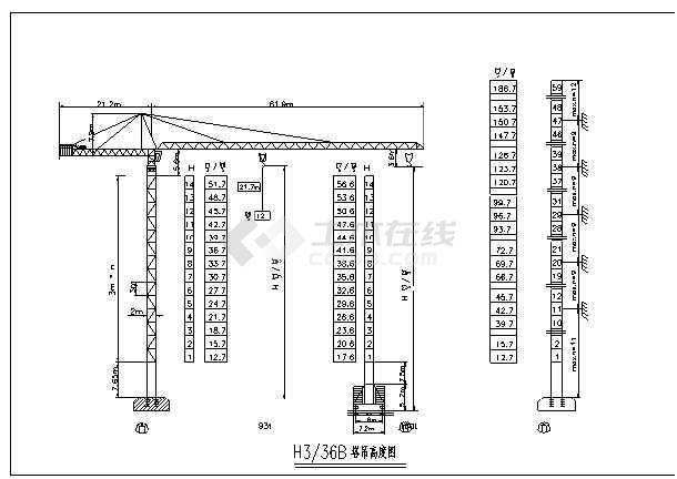 建筑工程施工节点详图CAD详图-图1