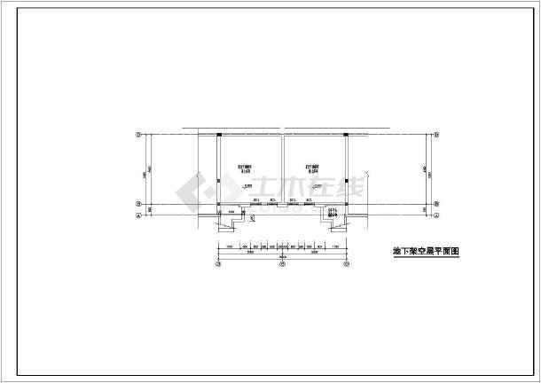 居住小区别墅建筑图(共11张)-图2