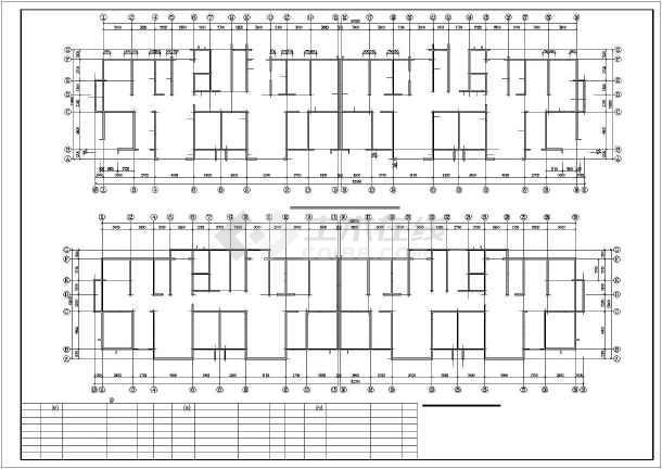 某高层混凝土剪力墙结构设计图-图1
