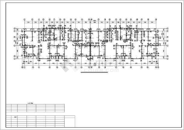 某高层混凝土剪力墙结构设计图-图2